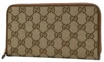 Gucci T. Original GG canvas wallet