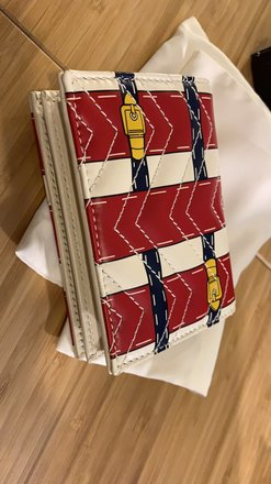 Gucci GG Marmont wallet with special print Image 2