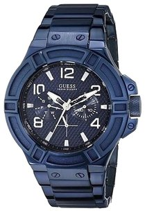 Guess Guess Blue Multifunction Mens Watch U0218g4