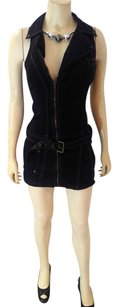 Guess short dress black brown P2001 Size Small on Tradesy