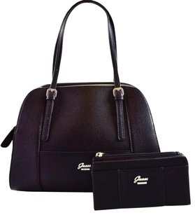 Guess Flowing Satchel in Black