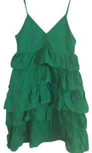 H&M short dress Green on Tradesy