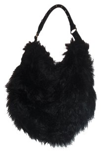 H&M Tote Purse Fur Hobo Bag