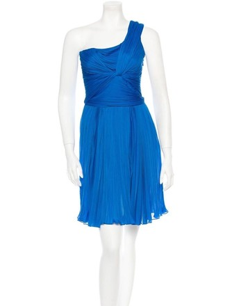 80%OFF Halston One Ruched Dress - 76% Off Retail