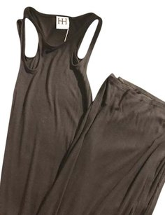 Black Maxi Dress by Haute Hippie Maxi Cut Out