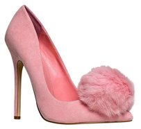 Heart's Collection Pink Pumps