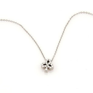 Hearts on Fire Hearts On Fire 18k White Gold Diamond Club Pendant Necklace