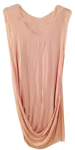 Helmut Lang short dress Pink on Tradesy