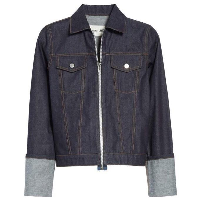 Helmut Lang Indigo Denim Womens Jean Jacket ...