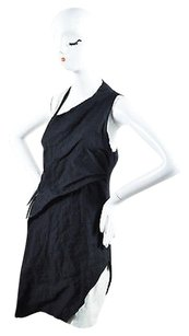 Helmut Lang short dress Black White on Tradesy