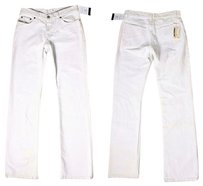Helmut Lang Straight Leg Jeans-Distressed