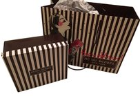 Henri Bendel Henri Bendel empty gift box, Shopping Bag, ribbon and tissue paper