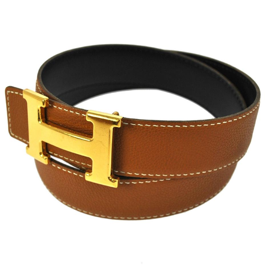 herm 232 s brown belts herm 232 s accessories tradesy