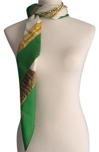 Hermès Hermes Kelly Green Scarf Wrap