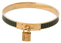 Hermès Hermes Kelly Leather Cadena Bracelet (Authentic Pre Owned)