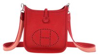 Hermès Hr.l0221.18 Clemence Perforated Cross Body Bag