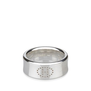 Hermès Jewelry,metal,ring,silver,5lherg007