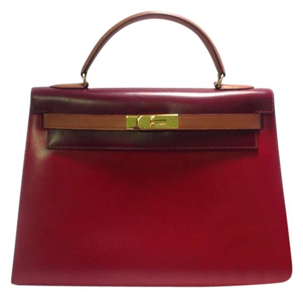 ... discount code for hermès kelly calf navy blue leather satchel tradesy  71361 67013 218aa41b63d71