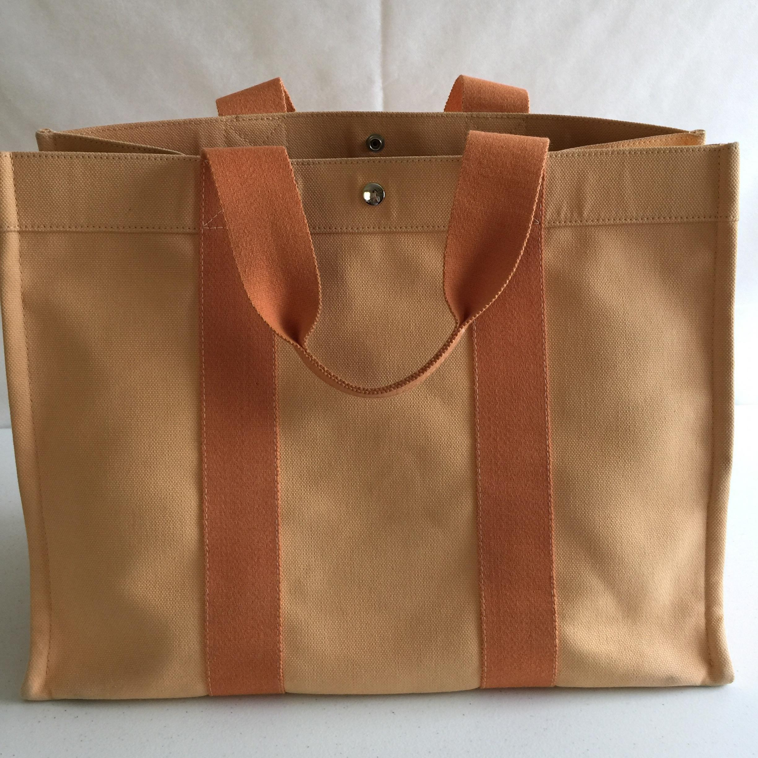 Hermès Bora Tote Orange Beach Bag | Beach Bags on Sale