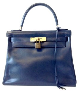 Hermès Satchel in BLUE