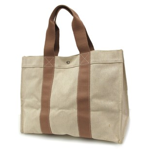 Herms Tote in Beige