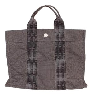 Herms Tote in Gray