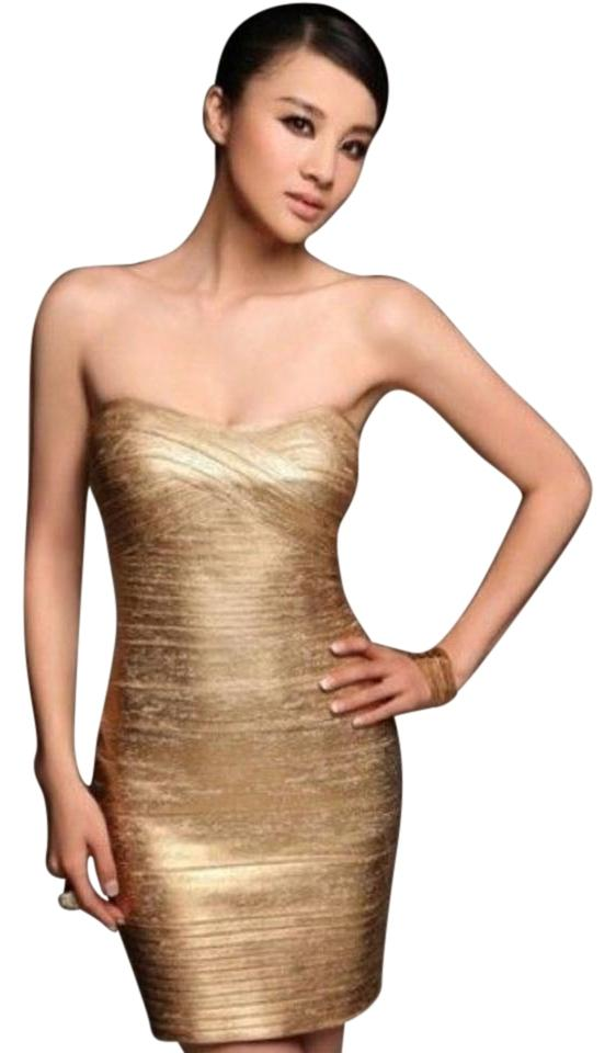 Tricotine and sequin dress
