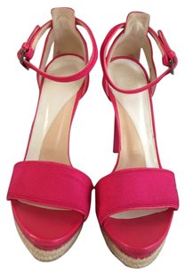 Hervé Leger Fuschia Sandals
