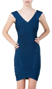 Hervé Leger Herve Nicolette Royal Dress