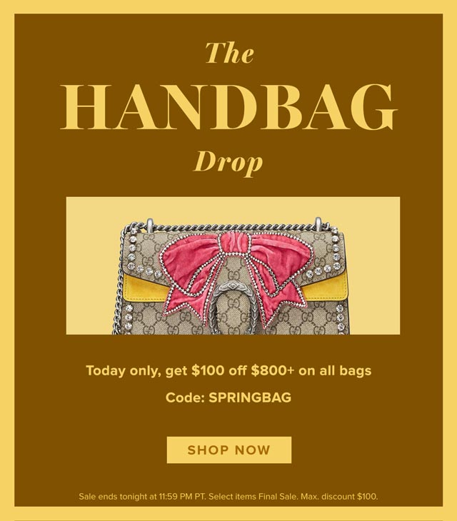 The Handbag Drop