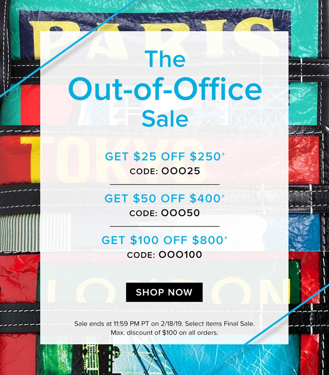The Out-of-Office Sale