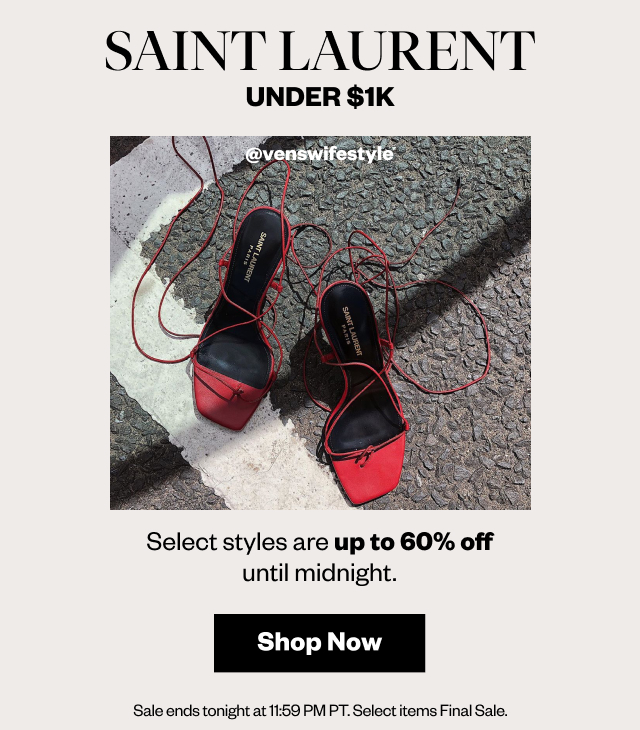Saint Laurent Under $1K