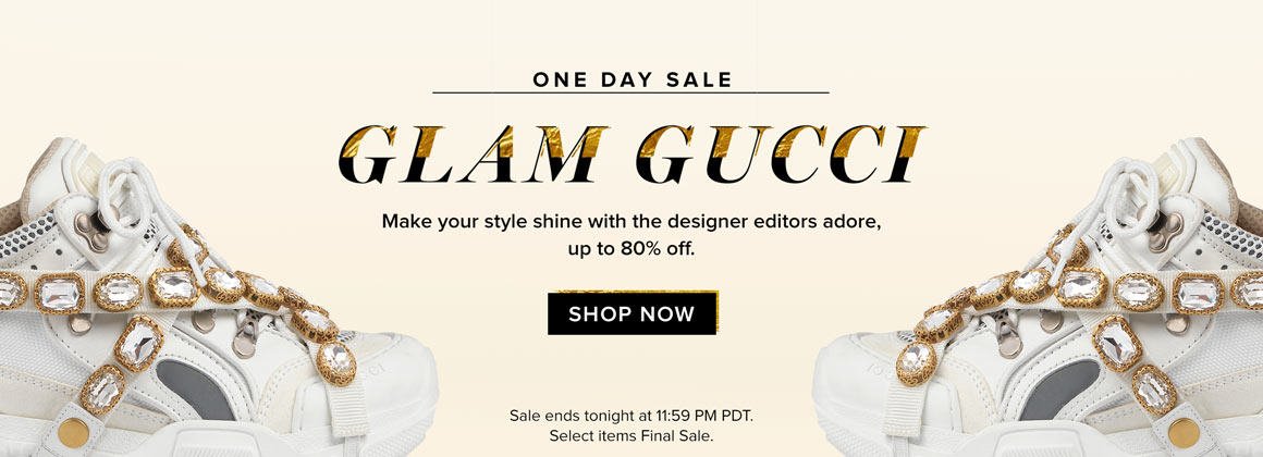 One Day Sale: Glam Gucci