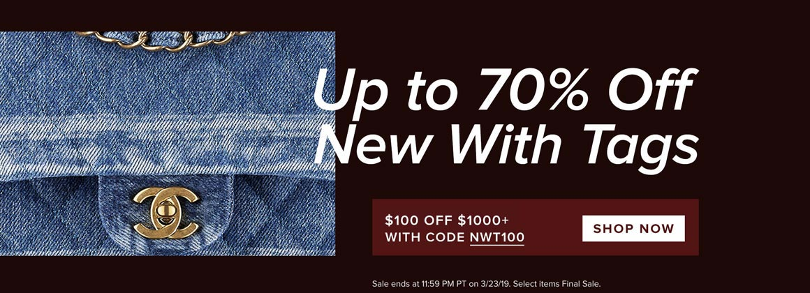 Up to 70% Off New-With-Tags