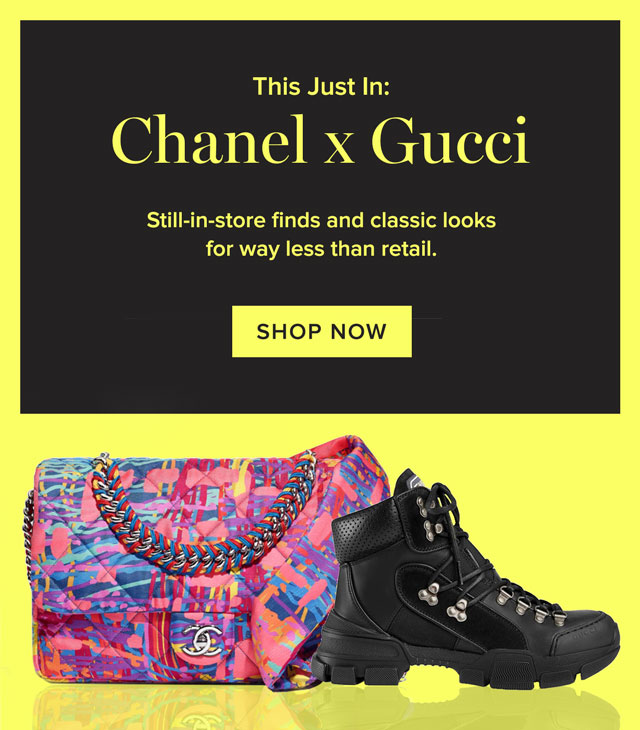 This Just In: Chanel x Gucci