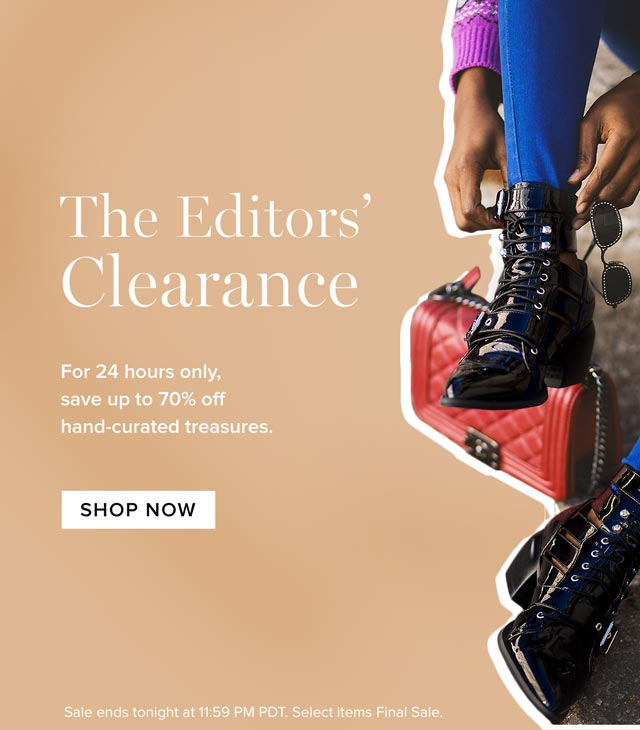 The Editors' Clearance