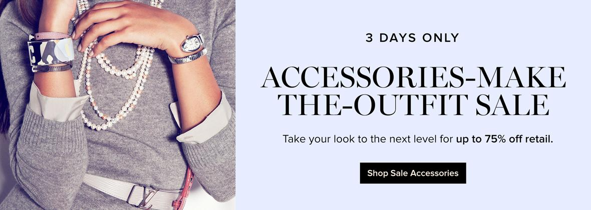 3-Day Accessories Sale