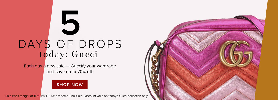 5 Days Of Drops: Gucci