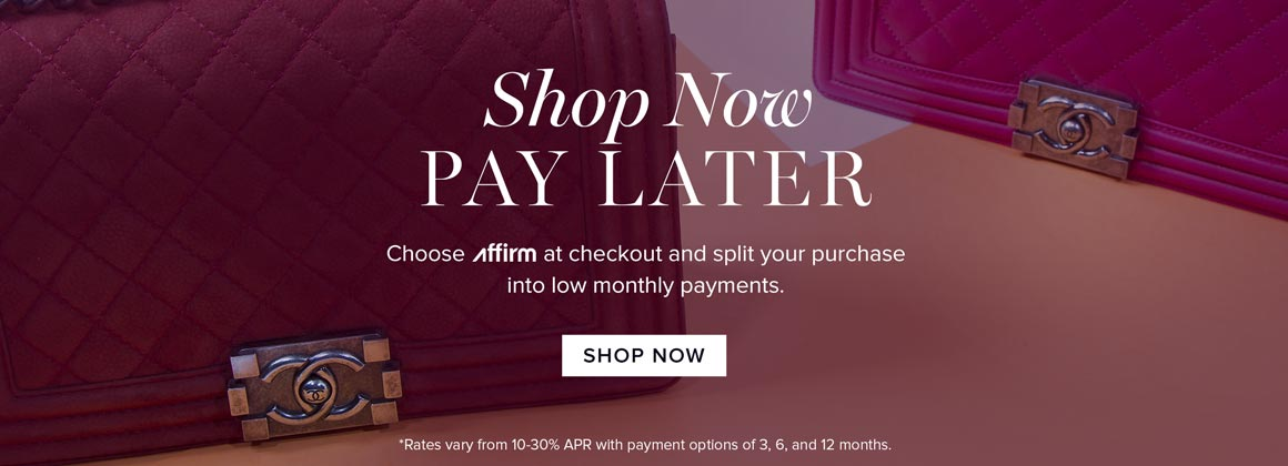 Shop Now, Pay Later: Affirm