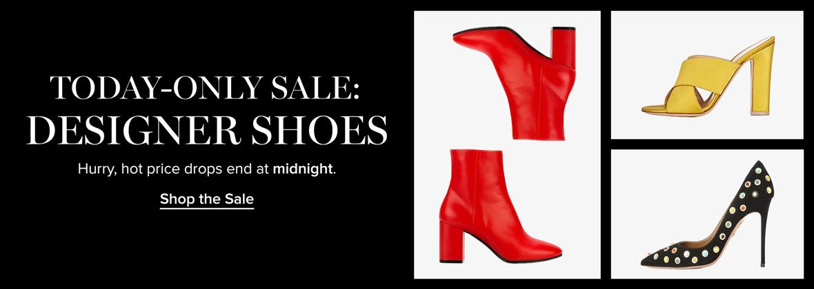 Today-Only Sale: Designer Shoes