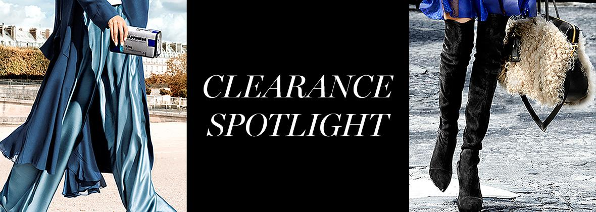 Clearance Spotlight