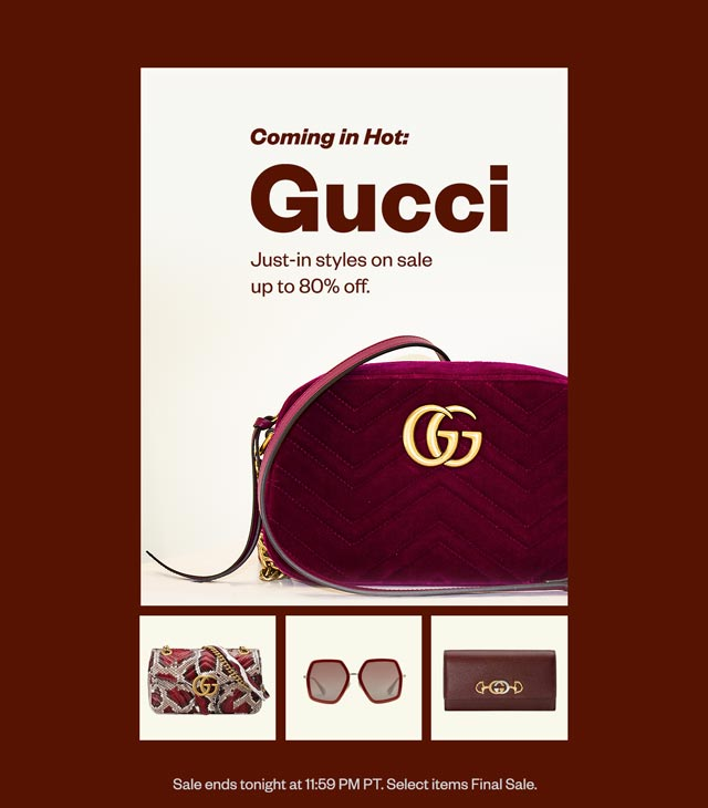 Coming in Hot: Gucci
