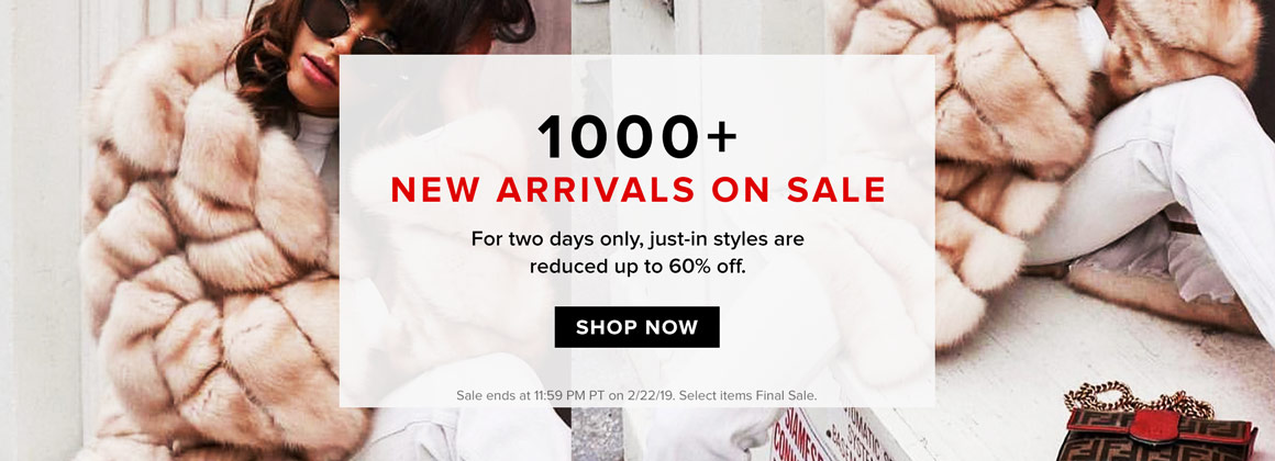 1000+ New Arrivals On Sale