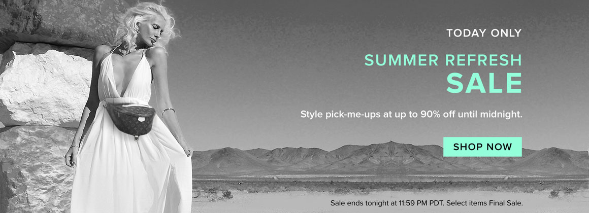 Today Only: Summer Refresh Sale