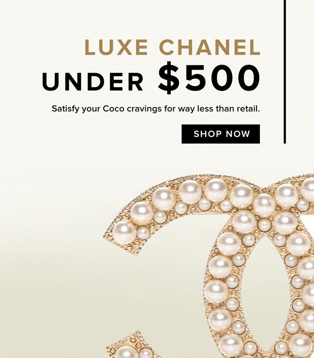 Luxe Chanel Under $500