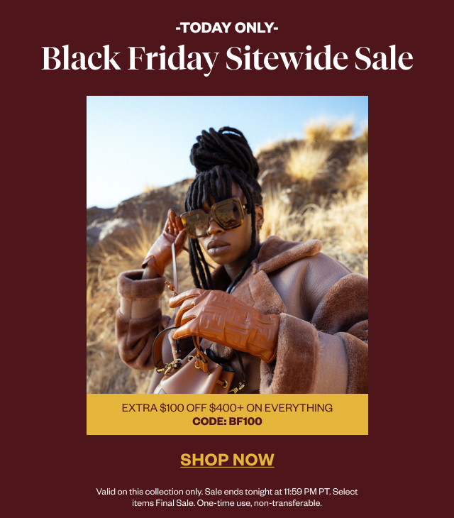 Black Friday Sitewide Sale