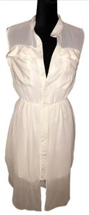 Hot Miami Styles short dress white on Tradesy