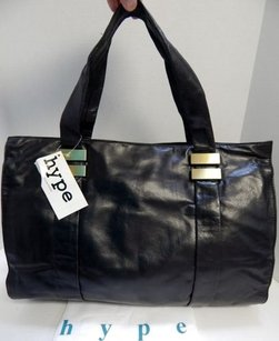 Hype Harrison Rt Tote in Black