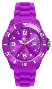 Ice Watch Ice-watch Unisex Si.pe.u.s.09 Sili Collection Purple Plastic And Silicone Watch