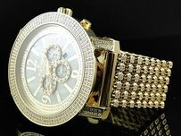 IceTime Mens Icetime Crown Row Joe Rodeo Jojo Diamond Watch Diamond Band 7.5ct